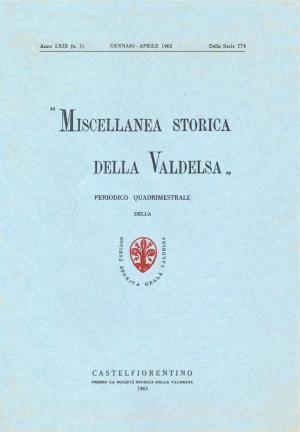 Miscellanea Storica della Valdelsa anno 1963