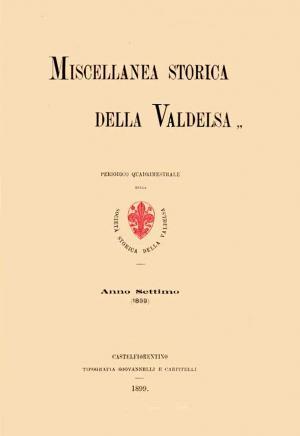 Miscellanea Storica della Valdelsa anno 1899