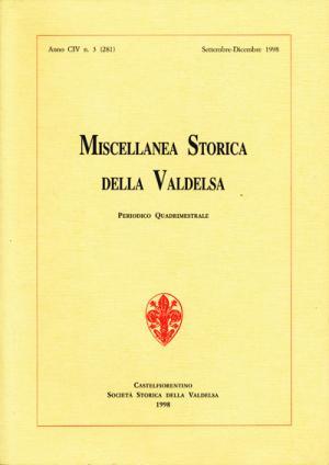 Miscellanea Storica della Valdelsa n. 281
