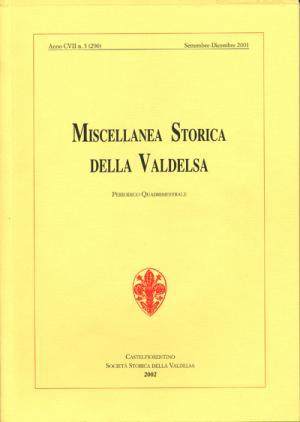 Miscellanea Storica della Valdelsa n. 290