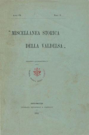 Miscellanea Storica della Valdelsa anno 1896