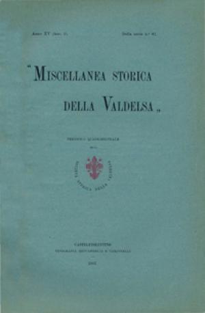 Miscellanea Storica della Valdelsa anno 1907