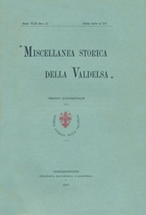 Miscellanea Storica della Valdelsa anno 1937