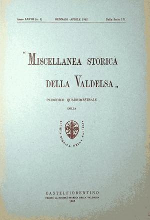 Miscellanea Storica della Valdelsa anno 1962