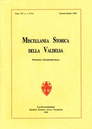 Miscellanea Storica della Valdelsa n. 273